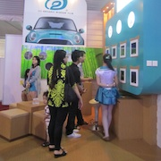 THE 21th INTERNATIONAL INDONESIA MOTOR SHOW ( IIMS ) 2013, @JIExpo Kemayoran - Jakarta
